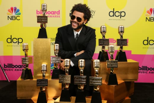 The Weeknd Wins Awards