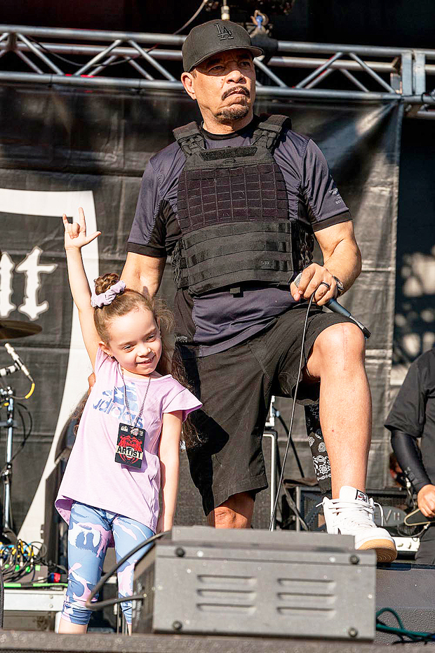 Ice-T with daughter Chanel